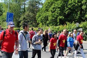 WHO tổ chức sự kiện 'Chạy và đi bộ' nhân kỷ niệm 70 năm thành lập