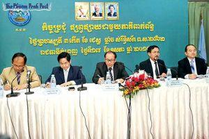 Ủy ban bầu cử quốc gia Campuchia công nhận 15 đảng chính trị tham gia tranh cử
