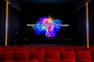 Màn hình 3D Cinema LED 4K, HDR của Samsung sử dụng đầu tiên tại Thụy Sĩ