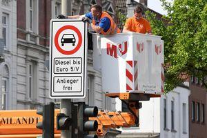 Những xe chạy Diesel chuẩn Euro 4 sẽ bị cấm ở Đức