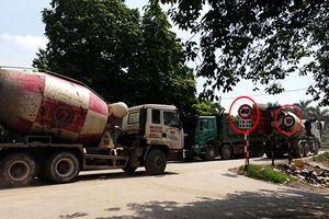 Hà Nội: Cống Liên Mạc 'oằn mình' vì xe quá tải