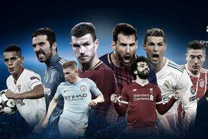 Những CLB của 4 giải VĐQG hàng đầu châu Âu dự Champions League mùa tới
