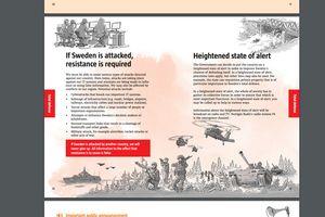 Thụy Điển phát hành 'cẩm nang' chuẩn bị chiến tranh cho 4,8 triệu hộ dân