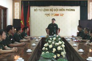Gặp mặt đoàn đại biểu BĐBP dự Đại hội đại biểu Công đoàn Quân đội lần thứ IX