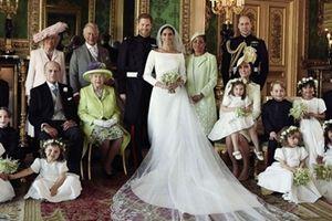 Hoàng tử Harry khoe ảnh cưới lung linh