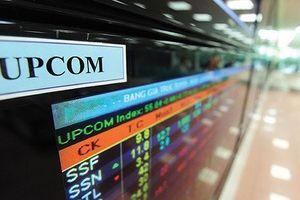 UPCoM: 17 doanh nghiệp bị tạm ngưng giao dịch