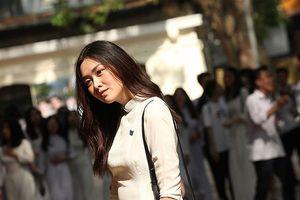 'Hot girl' trường Phan Đình Phùng trong ngày chia tay tuổi học trò