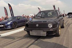 Volkswagen công suất 735 mã lực đọ tốc độ với Nissan GT-R