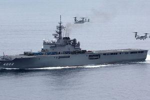 Nhật Bản có thể chuyển giao siêu tàu đổ bộ Osumi cho đối tác Đông Nam Á?