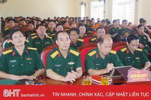 Đảng ủy Quân sự Hà Tĩnh thông báo nhanh kết quả Hội nghị Trung ương 7