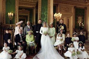 Hoàng gia Anh công bố ảnh đám cưới của hoàng tử Harry
