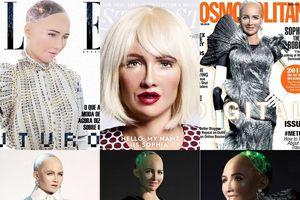 Robot đòi hủy diệt loài người liên tiếp lên bìa tạp chí, thực hiện phỏng vấn, được trao quyền công dân