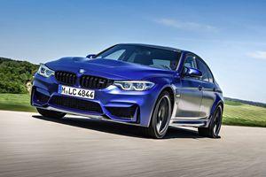 'Siêu sedan' BMW M3 CS lộ diện, chỉ sản xuất 1.200 chiếc
