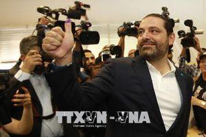 Ông Saad Hariri giữ chức Thủ tướng Liban nhiệm kỳ thứ ba