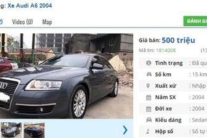 3 chiếc ô tô Audi cũ số tự động đẹp 'long lanh' rao bán tầm giá 500 triệu tại Việt Nam