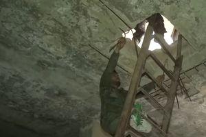Cận cảnh hệ thống đường hầm của IS trong tử địa Yarmouk
