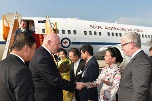 Những hình ảnh đầu tiên Toàn quyền Australia và Phu nhân thăm Việt Nam