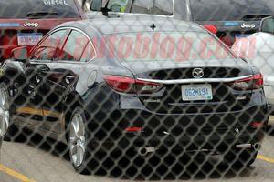Mazda6 2019 phiên bản máy dầu lộ diện tại Mỹ