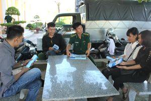 BĐBP Thái Bình tích cực phòng, chống tác hại của thuốc lá