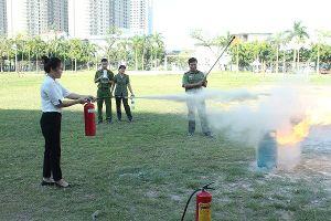 200 đoàn viên công đoàn tham gia tập huấn PCCC, an toàn vệ sinh lao động