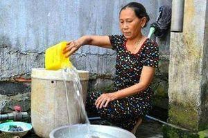 Mới vào hè, Hà Nội đã 'khát' nước sạch
