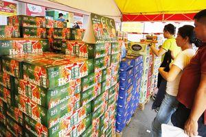 Bia âm thầm... tăng giá