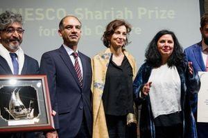 Trao giải UNESCO Sharjah dành cho phát triển văn hóa Ả Rập