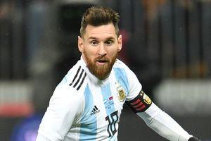 Tin nóng World Cup 25/5: Sao vô danh thách thức Messi