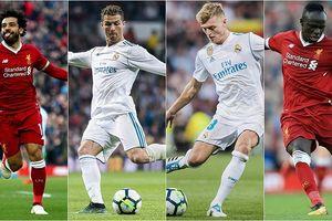 Đội hình những ngôi sao dự VCK World Cup 2018 của Real với Liverpool