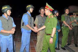 Lãnh đạo CATP Đà Nẵng kiểm tra công tác phối hợp tuần tra