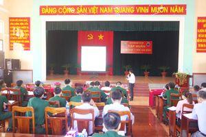 Quân y Biên phòng được tập huấn kiến thức y học gia đình