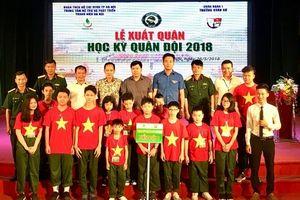 Hà Nội: Tổ chức Lễ xuất quân 'Học kỳ quân đội' năm 2018