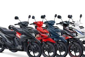 Xe tay ga đa sắc màu, giá rẻ của Suzuki chính thức lên kệ