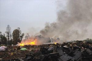 Vụ đốt phế thải công nghiệp bừa bãi ở Bắc Ninh: Ai chịu trách nhiệm?
