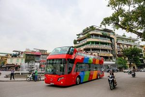 Sắp khai trương xe buýt 2 tầng thoáng nóc đầu tiên