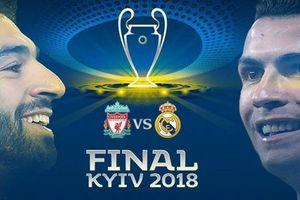 Xem trực tiếp trận Real vs Liverpool, chung kết Champions League ở đâu?