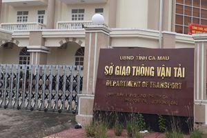 Cà Mau có tân Giám đốc Sở GTVT