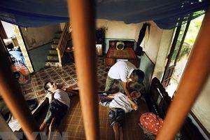 Các nhà y học Pháp nghiên cứu tìm cách chữa bệnh cho nạn nhân da cam