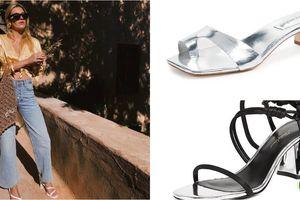 Nắng nóng, chọn giày gì thay thế giày cao gót?