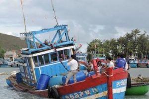 Tàu cá chở 7 ngư dân Lý Sơn bị đâm chìm ở Hoàng Sa