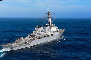 Mỹ điều hai tàu chiến tuần tra gần quần đảo Hoàng Sa