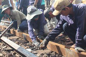 Vụ 2 tàu hỏa tông nhau ở Quảng Nam: Đang tiến hành sửa chữa đường ray