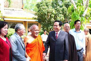 Giáo hội Phật giáo góp phần tích cực đẩy mạnh khối đại đoàn kết toàn dân tộc