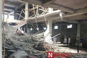 Lộ diện 'đại gia' chủ công trình sập giàn giáo 5 người thương vong ở Nam Định