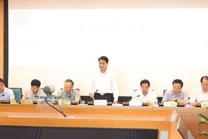 Chủ tịch Nguyễn Đức Chung yêu cầu công bố chỉ số chất lượng không khí hàng ngày
