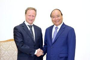Thủ tướng Nguyễn Xuân Phúc tiếp Bộ trưởng Bộ Ngoại giao Australia và Đại sứ, Trưởng phái đoàn EU tại Việt Nam