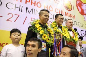 Việt Nam lần đầu có cơ thủ vô địch billiards 3 băng World Cup