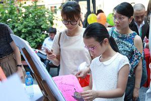 60.000 học sinh hưởng ứng cuộc thi Đại sứ Văn hóa đọc Thủ đô