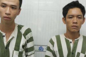Cướp giật bị truy đuổi, 2 con nghiện liều lĩnh rút dao chống trả công an