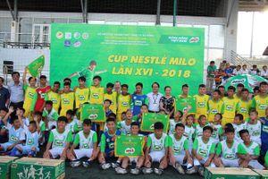 Bình Phước đoạt chức vô địch HKPĐ cúp Milo 2018 khu vực 3 ở cả hai bậc học